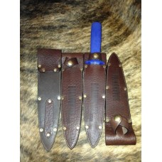 Boar Hunter Leather Knife Sheath