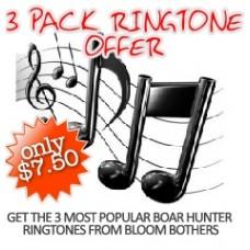 Boar Hunter Ringtones - 3 Pack