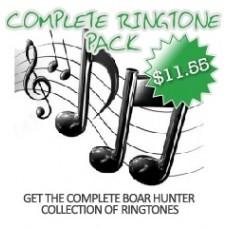 Boar Hunter Ringtones - Complete Pack