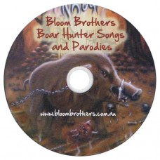 Boar Hunter Songs and Parodies CD