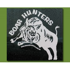 """Boar Hunters"" Panel Sticker"