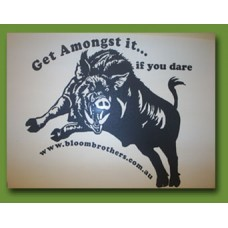 """Get Amongst It... if you dare"" Sticker"
